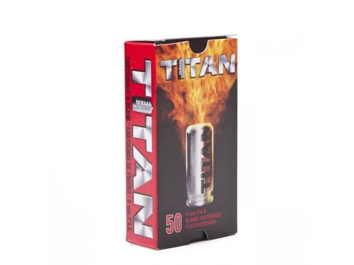Náboj start. TITAN Perfecta 9 mm PA 50ks