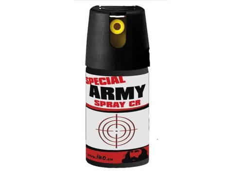 Obranný sprej - kaser Special Army spray CR 40ml