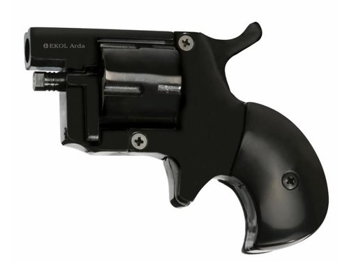 Flobert revolver EKOL Arda Black 4mm